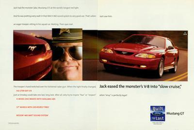 1998 Mustang-The Monster's V-8