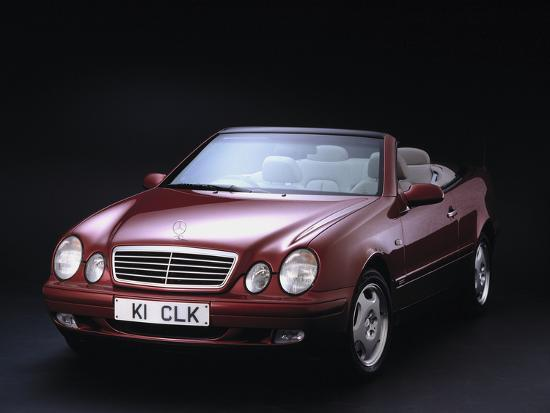 1999 Mercedes Benz CLK 320 Cabriolet Photographic Print By