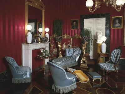 19th Century Living Room, Pitti Palace, Florence, Italy--Giclee Print