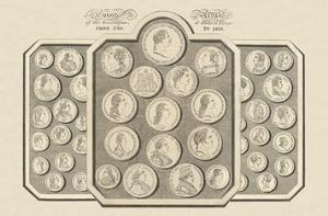 Coins and Medals of the Sovereigns and States of Europe by 19th Century School