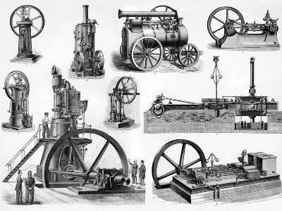 19th Century Steam Engines-Sheila Terry-Photographic Print