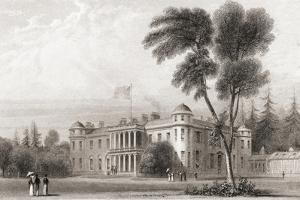 19th Century View of Goodwood House