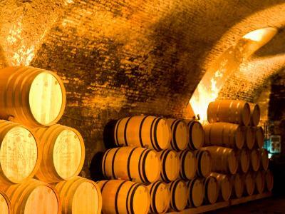 19th Century Wine Cellar, Juanico Winery, Uruguay-Stuart Westmoreland-Photographic Print