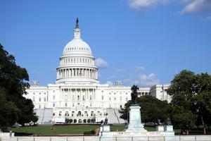 The Capitol in Washington DC is the Building Where the United States Congress Meets by 1photo