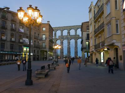 1st Century A.D. Roman Aqueduct in Segovia-Scott Warren-Photographic Print