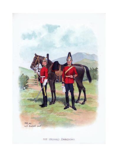 1st Royal Dragoons, C1915-LE Buckell-Giclee Print