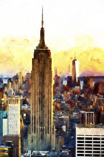 1WTC & Empire State II-Philippe Hugonnard-Giclee Print