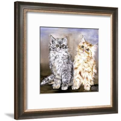 2 Chatons-Clauva-Framed Art Print