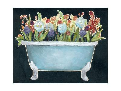 2-Up Bathtub Garden I-Grace Popp-Art Print