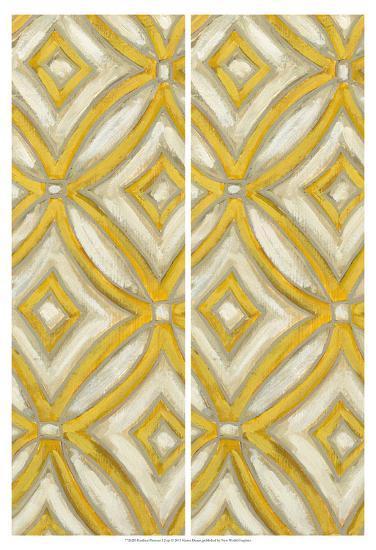 2-Up Earthen Patterns I-Karen Deans-Art Print