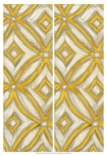 2-Up Earthen Patterns II-Karen Deans-Art Print