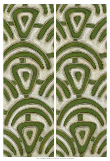2-Up Earthen Patterns III-Karen Deans-Art Print