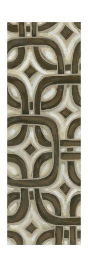 2-Up Earthen Patterns VI-Karen Deans-Art Print