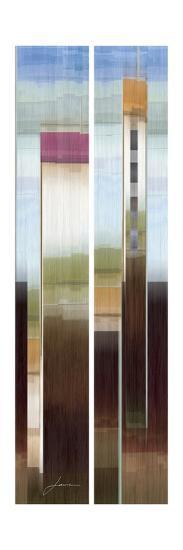 2-Up Eastside II-James Burghardt-Art Print
