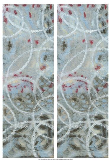 2-Up Linked Layers IV-Karen Deans-Art Print
