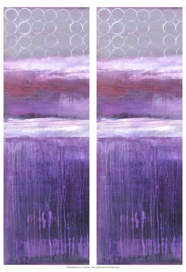 2-Up Purple Rain I-Erin Ashley-Art Print