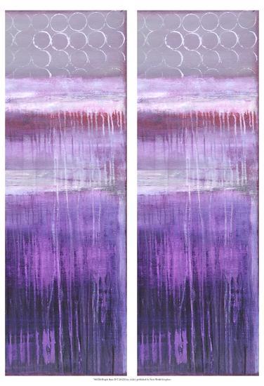 2-Up Purple Rain II-Erin Ashley-Art Print