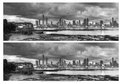 2-Up Skyscape City Panorama-Nish Nalbandian-Art Print