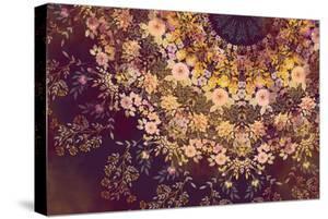 Dark Floral Mandala by 20.0