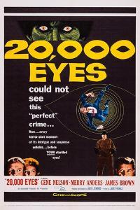 20,000 Eyes, Bottom Left: Gene Barry, Merry Anders; Bottom Right: James Brown, 1961