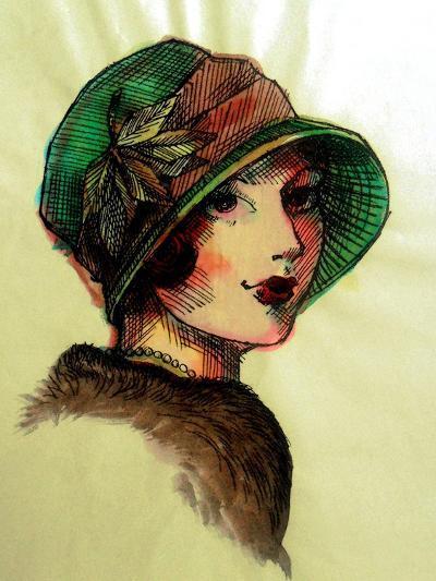 20's Girls I-Danielle Harrington-Art Print