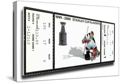 2000 NHL Stanley Cup Mega Ticket - New Jersey Devils
