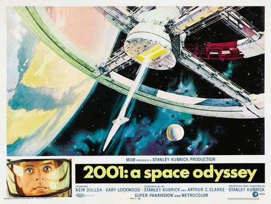 2001: A Space Odyssey, 1968--Poster