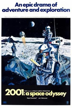 2001: A Space Odyssey (aka Two Thousand and One: a Space Odyssey)--Art Print