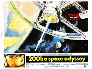 2001: A Space Odyssey, US lobbycard, Keir Dullea, 1968