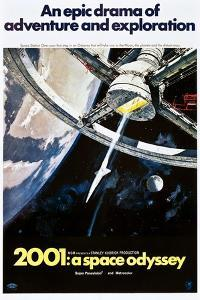 2001: A Space Odyssey, US poster, 1970