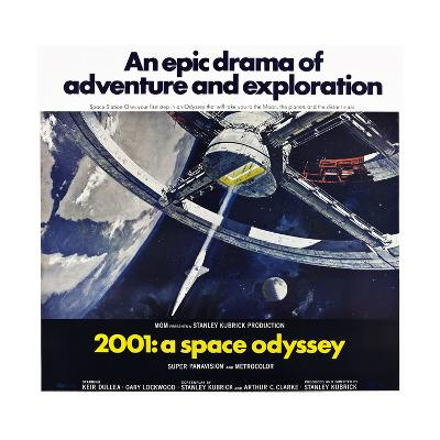 2001: A Space Odyssey--Art Print