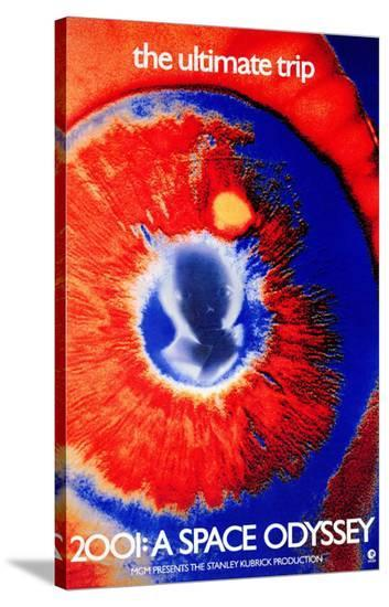 2001--Stretched Canvas Print