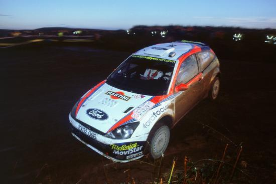 2002 Ford Focus Rs Wrc Colin Mcraework Q Rally Photographic
