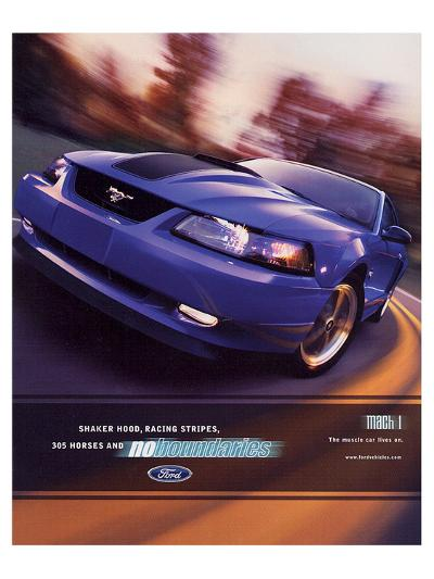 2003 Mustang- Muscle Car Lives--Art Print
