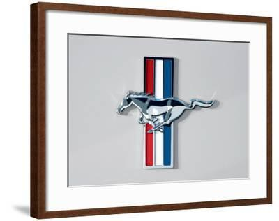 2006 Ford Mustang Horse and Bars Emblem