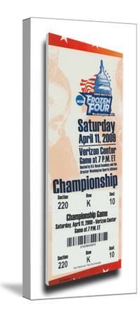 2009 Frozen Four Mega Ticket - Boston University Terriers