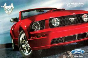 2009 Mustang-Rush to Drive One