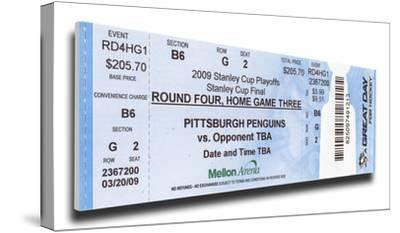 2009 NHL Stanley Cup Mega Ticket - Pittsburgh Penguins