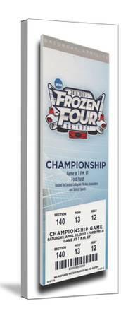 2010 Frozen Four Mega Ticket - Boston College Eagles