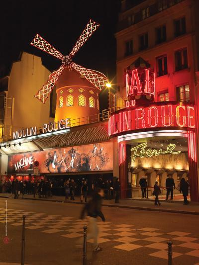 2010 Place Blanche Moulin Rouge--Photographic Print
