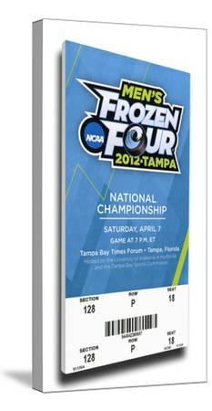 2012 Frozen Four Mega Ticket - Boston College Eagles
