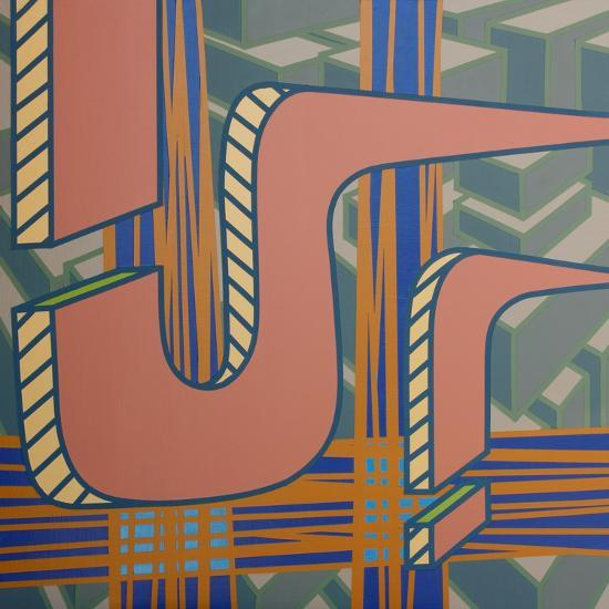 2013 Lines Project 53-Eric Carbrey-Giclee Print