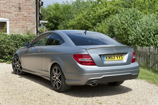 2013 Mercedes Benz C250 Cdi Coupe AMG Sport Photographic Print by | Art com