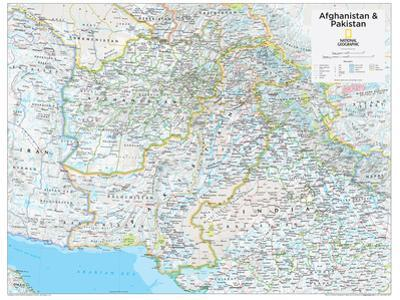 2014 Afghanistan Pakistan - National Geographic Atlas of the World, 10th Edition