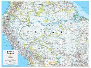 2014 Amazon Region - National Geographic Atlas of the World, 10th Edition