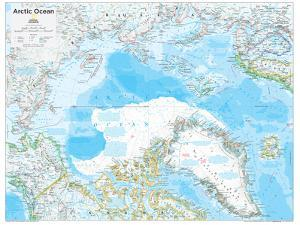 2014 Arctic Political - National Geographic Atlas of the World, 10th Edition