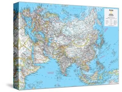 2014 Asia Political - National Geographic Atlas of the World, 10th Edition