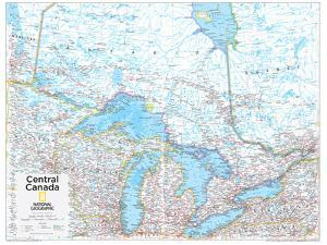 2014 Central Canada - National Geographic Atlas of the World, 10th Edition
