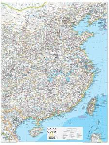 2014 China Coast - National Geographic Atlas of the World, 10th Edition
