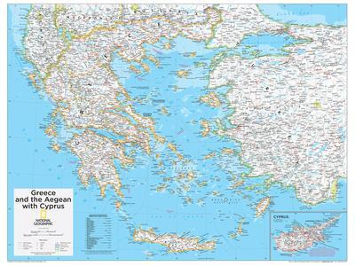 graphic about Printable Maps of Greece titled Eye-catching Maps of Greece art for sale, Posters and